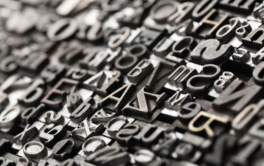 Tipografía y significación